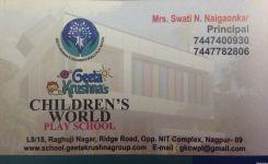 Geeta Krushna's Children's World