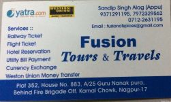 Fusion Tours and Travels