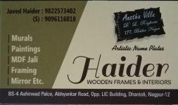 Haider Wooden Frame & Interior