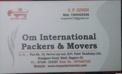 Om International Packers & Movers