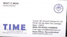 T.I.M.E.( TRIUMPHANT. INSTITUTE OF MANAGEMENT EDUCATION PVT LTD