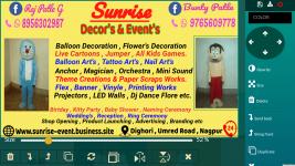 Sunrise Events Organizer