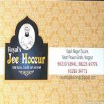 Jee Hoozur Restaurant